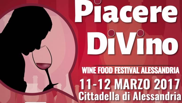 """La cantina sarà presente alla manifestazione """"Piacere DiVino"""", 11 e 12 Marzo ad Alessandria"""