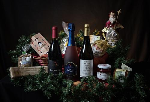 Confezioni regalo e cesti Natalizi